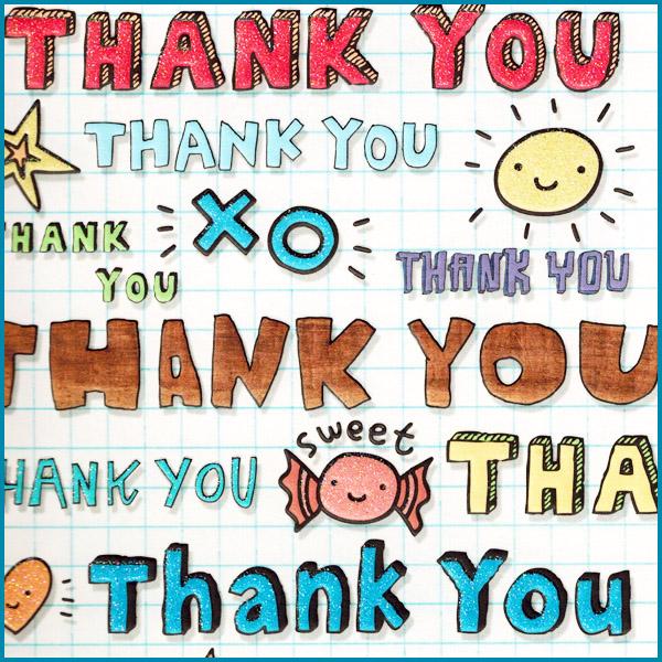 Testimonial Card - Thank You